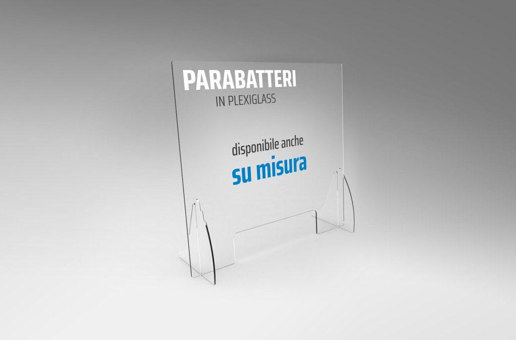 barriera plexiglass