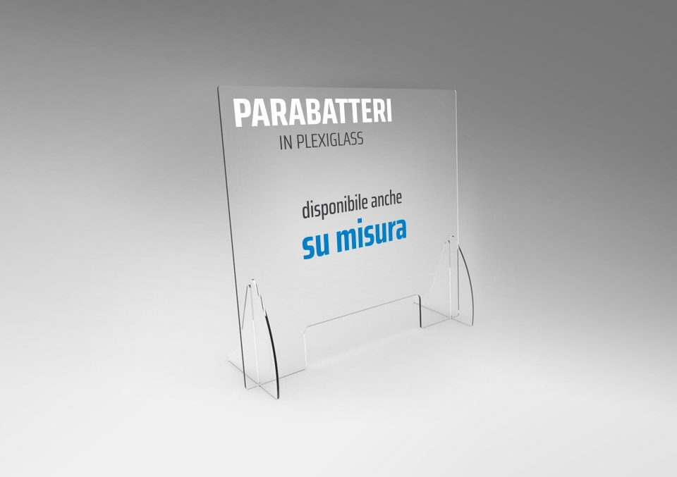 barriera plexiglass